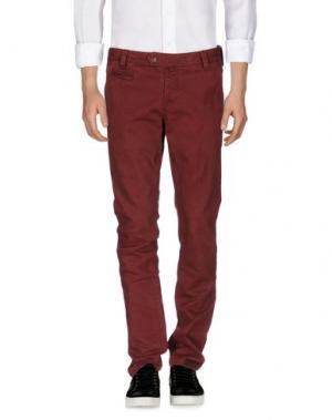 Джинсовые брюки AT.P.CO. Цвет: красно-коричневый