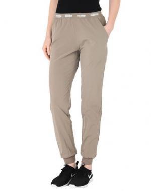 Повседневные брюки DIMENSIONE DANZA. Цвет: голубиный серый
