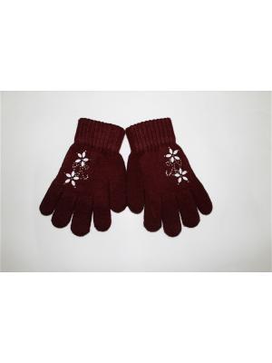 Перчатки Cascatto. Цвет: коричневый