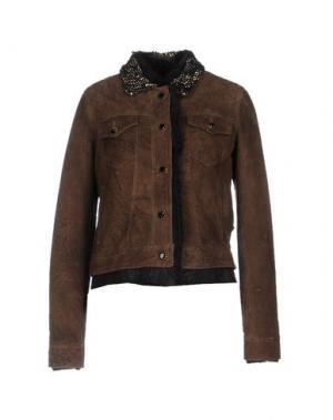 Пальто ALVIERO MARTINI 1a CLASSE. Цвет: темно-коричневый