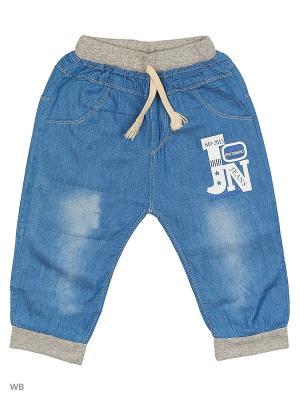 Шорты из тонкой джинсы Kidly. Цвет: голубой