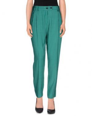 Повседневные брюки •MILANO PARIGI•. Цвет: зеленый