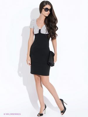 Платье Colambetta. Цвет: черный, белый