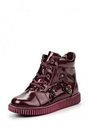 Ботинки Спартак. Цвет: бордовый
