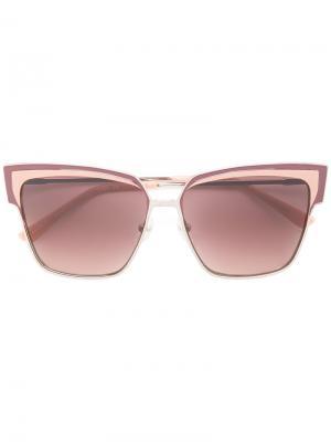 Солнцезащитные очки Retro Kl269S Karl Lagerfeld. Цвет: розовый и фиолетовый