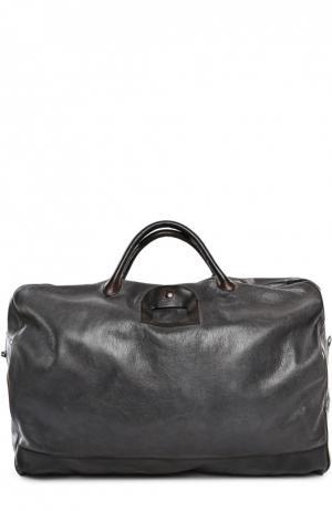Дорожная сумка Numero 10. Цвет: темно-серый