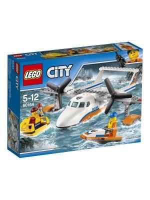 City Coast Guard Спасательный самолет береговой охраны 60164 LEGO. Цвет: синий