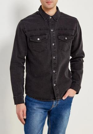 Рубашка джинсовая Only & Sons. Цвет: черный