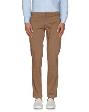 Повседневные брюки MASSIMO BRUNELLI. Цвет: светло-коричневый