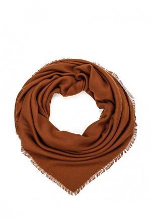 Платок Fete. Цвет: коричневый