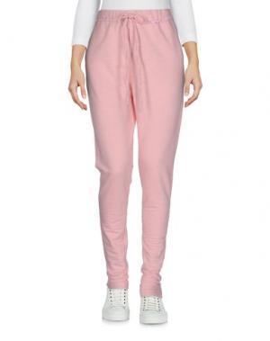 Повседневные брюки EMPATHIE. Цвет: розовый
