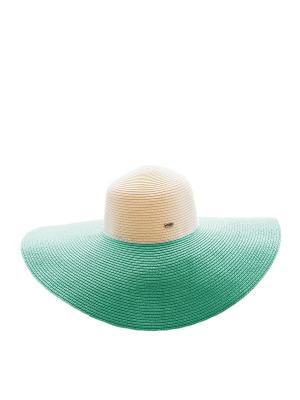 Шляпа Marc&Andre. Цвет: зеленый, молочный