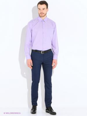 Рубашка Imperator. Цвет: сиреневый, фиолетовый