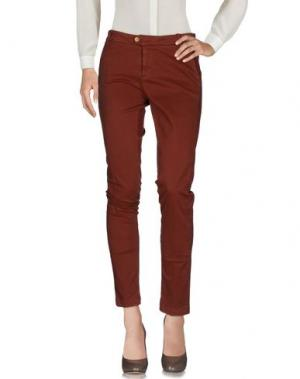 Повседневные брюки KOCCA. Цвет: коричневый
