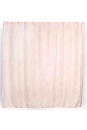 Штора для ванной комнаты Verran. Цвет: розовый
