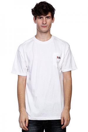 Футболка  Viva Patch Pocket White Cliche. Цвет: белый