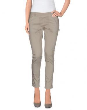 Повседневные брюки ANNARITA N.. Цвет: голубиный серый