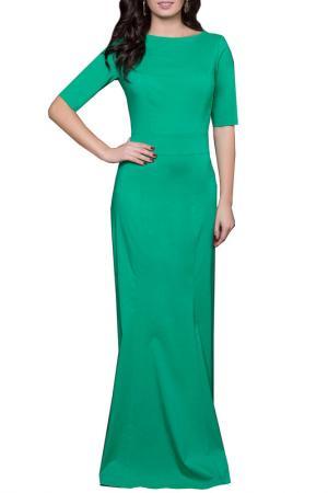 Платье Grey Cat. Цвет: светло-зеленый