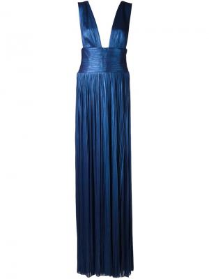 Платье Kadija Maria Lucia Hohan. Цвет: синий