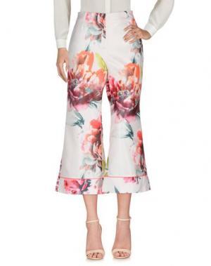 Повседневные брюки ROSE' A POIS. Цвет: светло-розовый