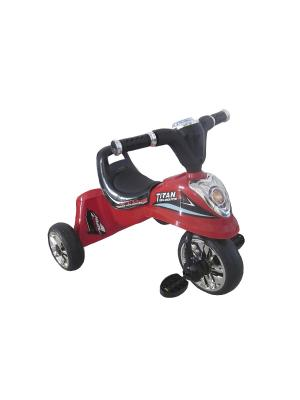 Велосипед детский,3х-колесный со световыми и звуковыми эффектами,красный(MT-BCL0815007) Pit Stop. Цвет: красный