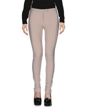 Повседневные брюки MASSIMO REBECCHI. Цвет: голубиный серый