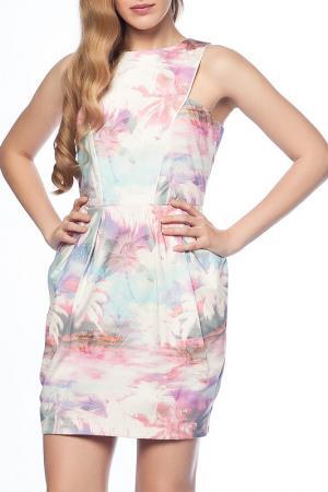 Платье Dilvin. Цвет: мультицвет