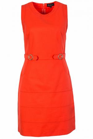 Платье Luisa Spagnoli. Цвет: оранжевый