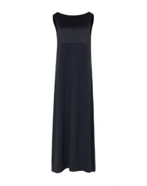 Длинное платье ANTONELLI. Цвет: черный