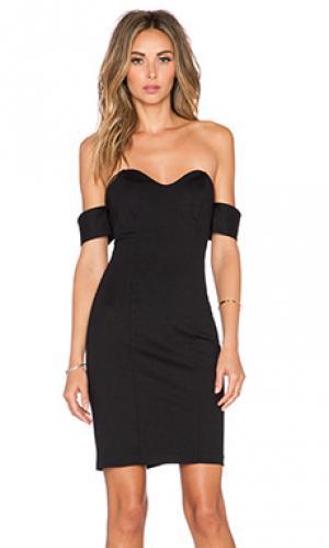 Платье shalimar Amanda Uprichard. Цвет: черный