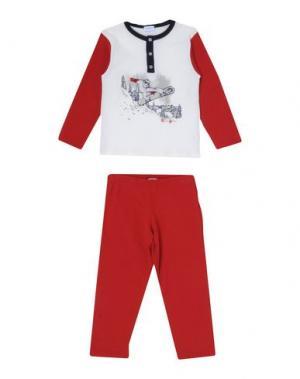 Пижама GRIGIO PERLA. Цвет: слоновая кость