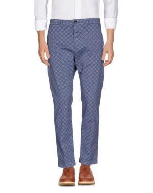 Повседневные брюки TRUE NYC.. Цвет: грифельно-синий