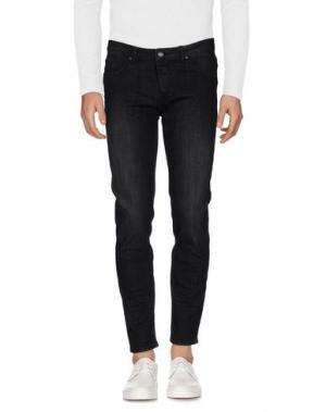 Джинсовые брюки SSEINSE. Цвет: черный