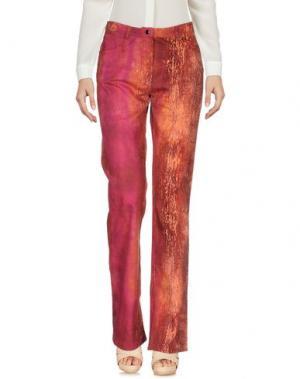 Повседневные брюки ROBERTA SCARPA. Цвет: ржаво-коричневый