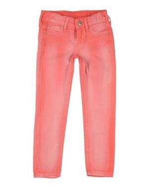 Джинсовые брюки PEPE JEANS. Цвет: светло-фиолетовый