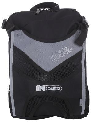 Рюкзак для роликовых коньков Re:action. Цвет: серый, черный
