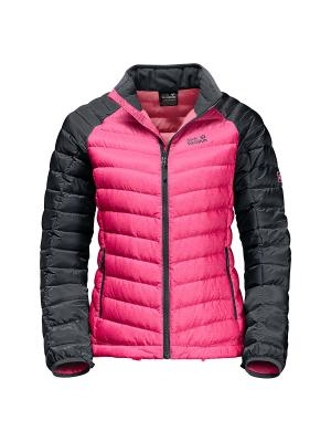 Куртка Jack Wolfskin. Цвет: розовый