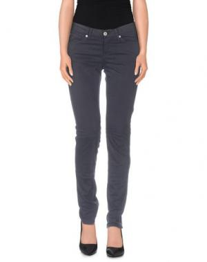 Повседневные брюки MER DU NORD. Цвет: стальной серый