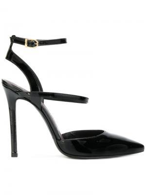 Туфли с заостренными носками Marc Ellis. Цвет: чёрный