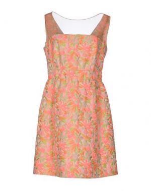 Короткое платье 22 MAGGIO BY MARIA GRAZIA SEVERI. Цвет: светло-фиолетовый