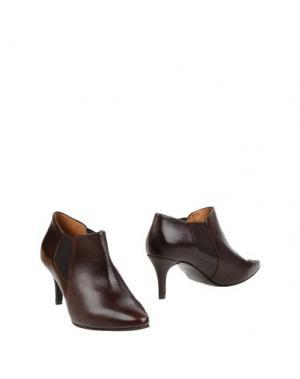 Ботинки MARIAN. Цвет: какао