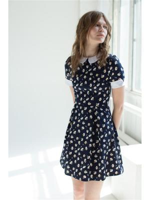 Платье с воротничком Self Made