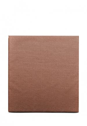Постельное белье Евро Sova & Javoronok. Цвет: коричневый