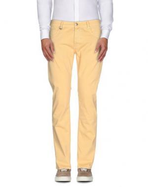 Повседневные брюки DW⁵. Цвет: желтый