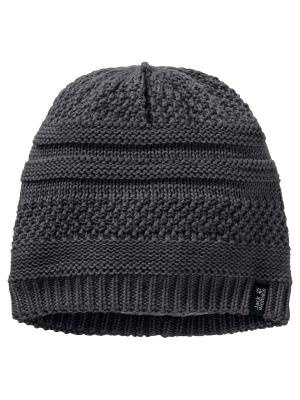 Шапка WHITE ROCK CAP Jack Wolfskin. Цвет: серый
