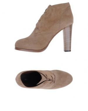 Обувь на шнурках BRUNO MAGLI. Цвет: бежевый