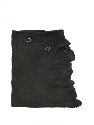Hook buckled scarf Cutuli Cult. Цвет: чёрный