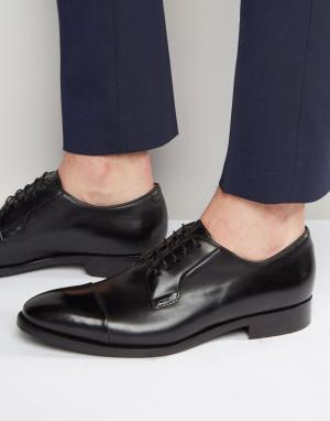 Paul Smith Туфли дерби с отделкой на носке Ernest. Цвет: черный