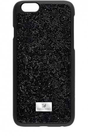 Чехол Glam Rock Black для iPhone 6/6S Swarovski. Цвет: черный