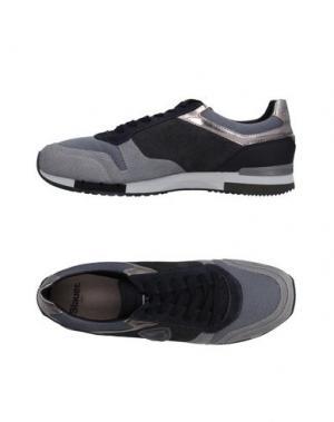 Низкие кеды и кроссовки BLAUER. Цвет: серый